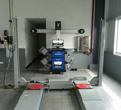 5d wheel alignment machine