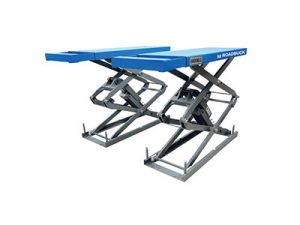 Portable hydraulic scissor car lifts